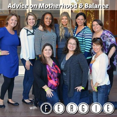 Advice on Motherhood and Balance with Fergie #Fergie #AMAs #ABCTVEvent #RockinEve