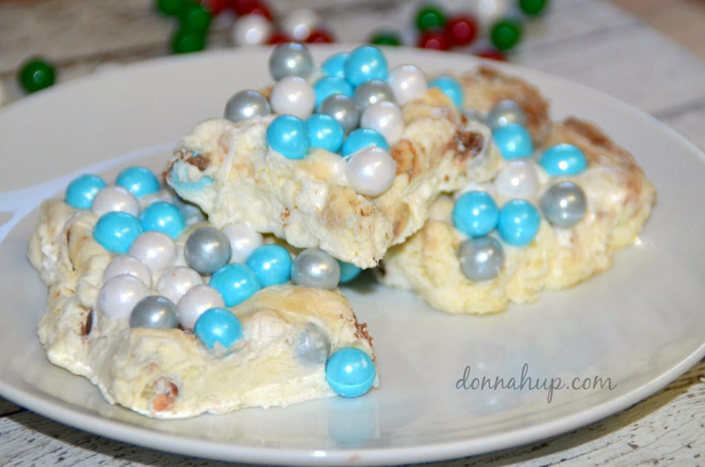 Olaf's Frozen Snow Fudge #SweetWorksHoliday + Giveaway #recipe #giveaway #frozen