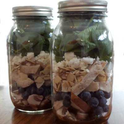 Easy Salad in a Jar