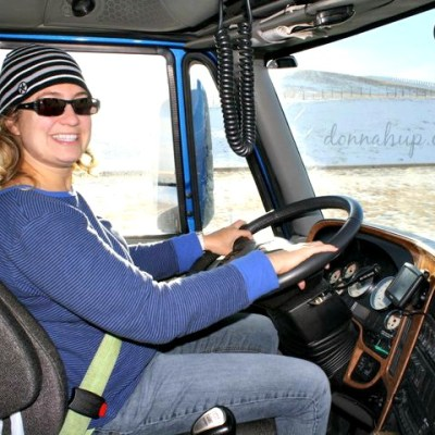 Yes, I'm a Girl and I can drive a Semi Truck