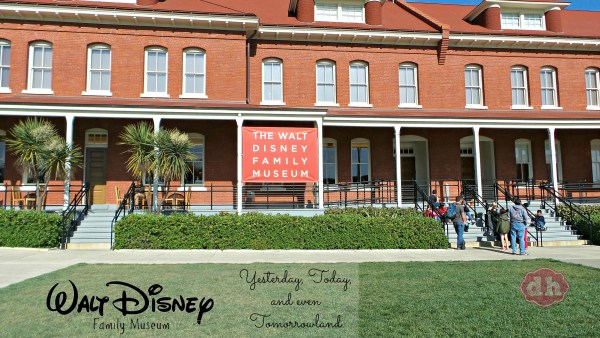 Walt Disney Family Museum Yesterday, Today, and even Tomorrowland #Waltagram #InsideOutEvent