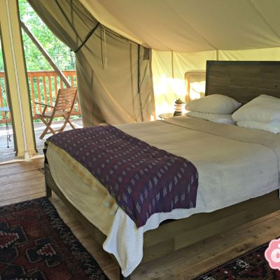 Glamping at FireLight