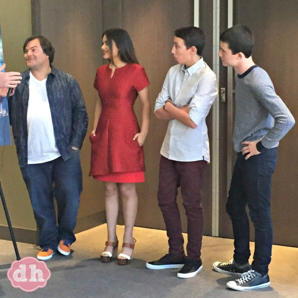 Sitting Down with the Cast of Goosebumps - Interview with Jack Black, Odeya Rush, Ryan Lee, and Dylan Minnette to talk about the film.