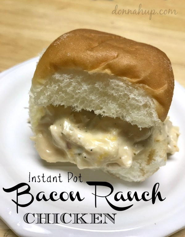 Instant Pot Bacon Ranch Chicken
