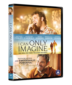 I Can Only Imagine on DVD Now