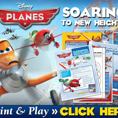 Soar to New Heights of Fun with Planes Clip & Activities