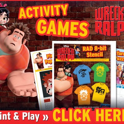 Wreck-It Ralph Activities