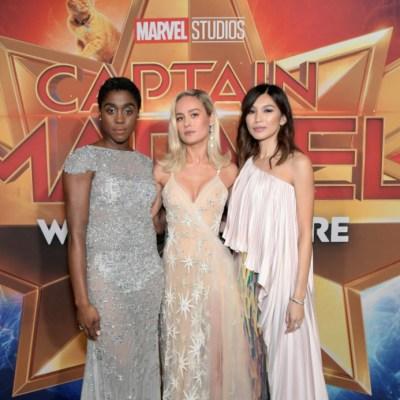 Captain Marvel LA Premier