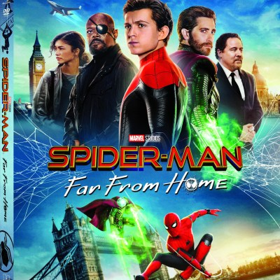 Spider-Man Far From Home on Blu-Ray Now