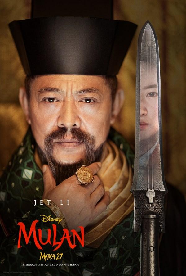 Brand New Mulan Character Artwork
