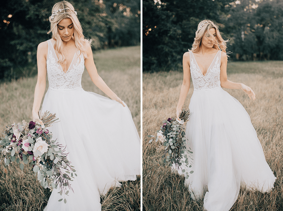 miami styled bridal shoot