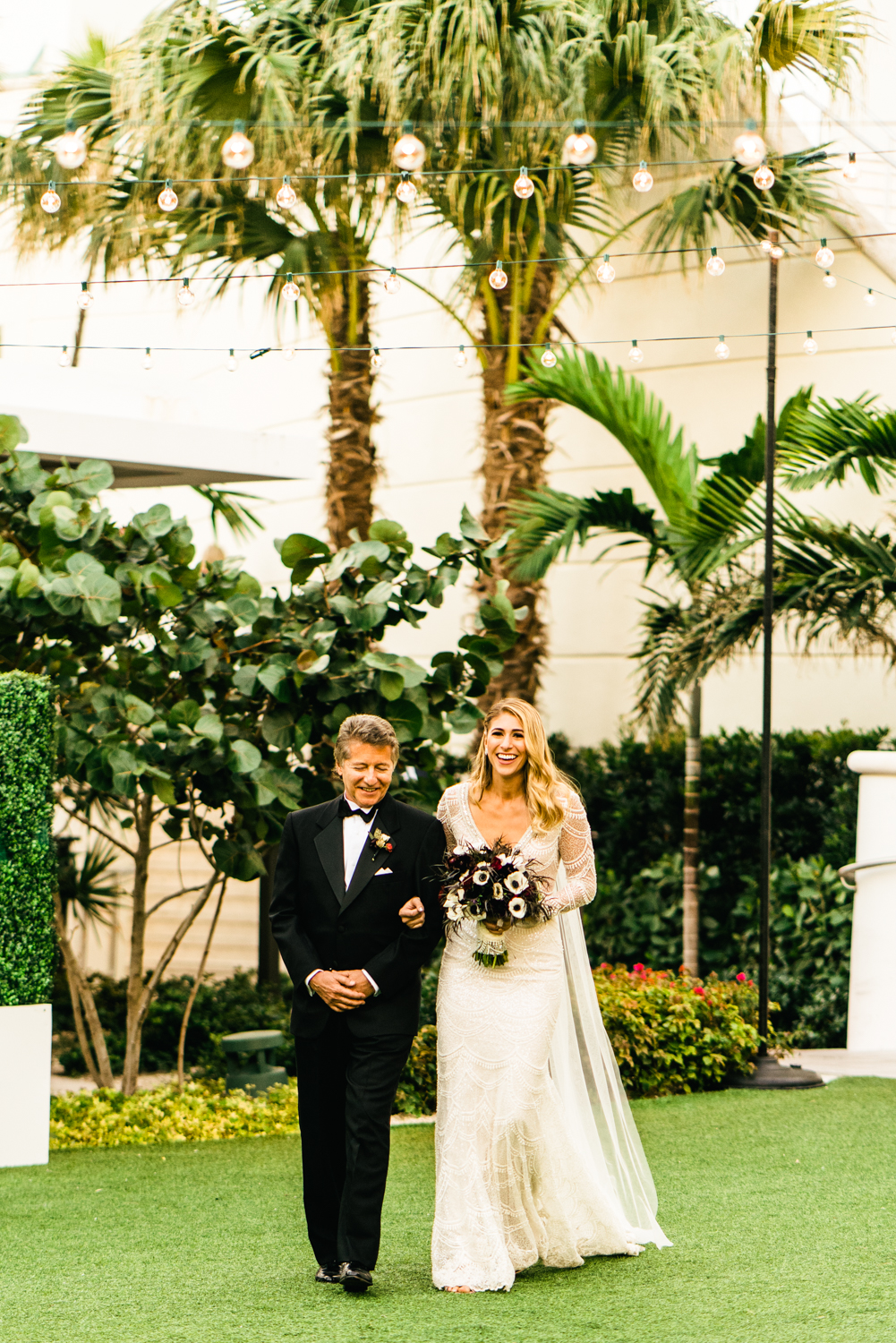 tropical wedding photos