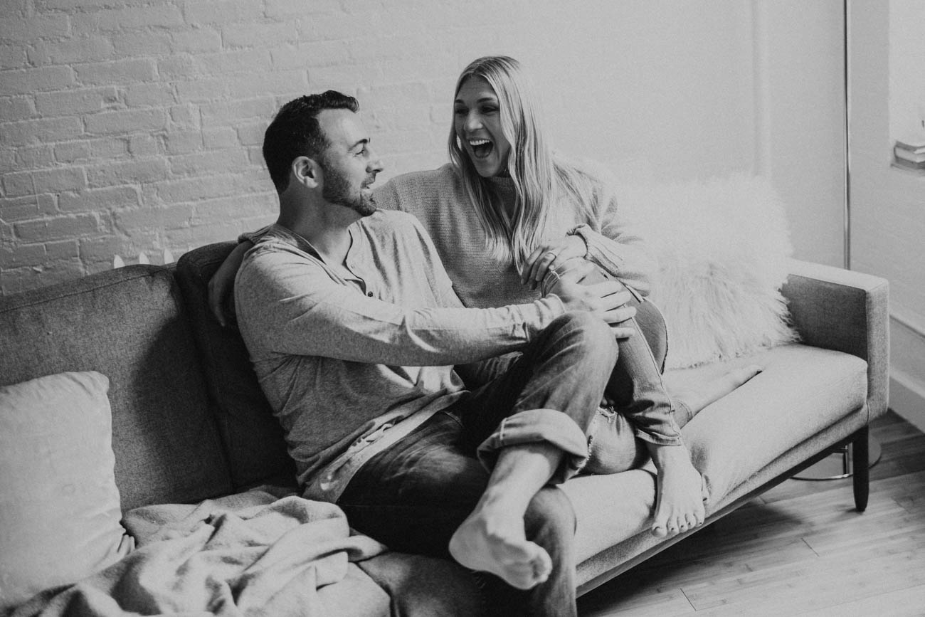 nyc loft engagement