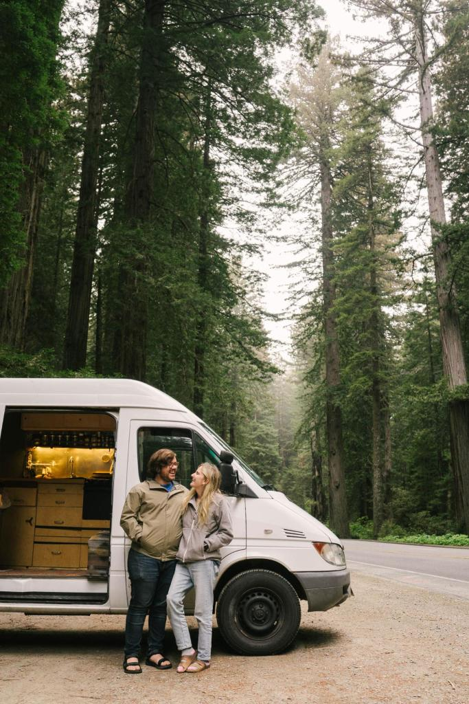 van life couple