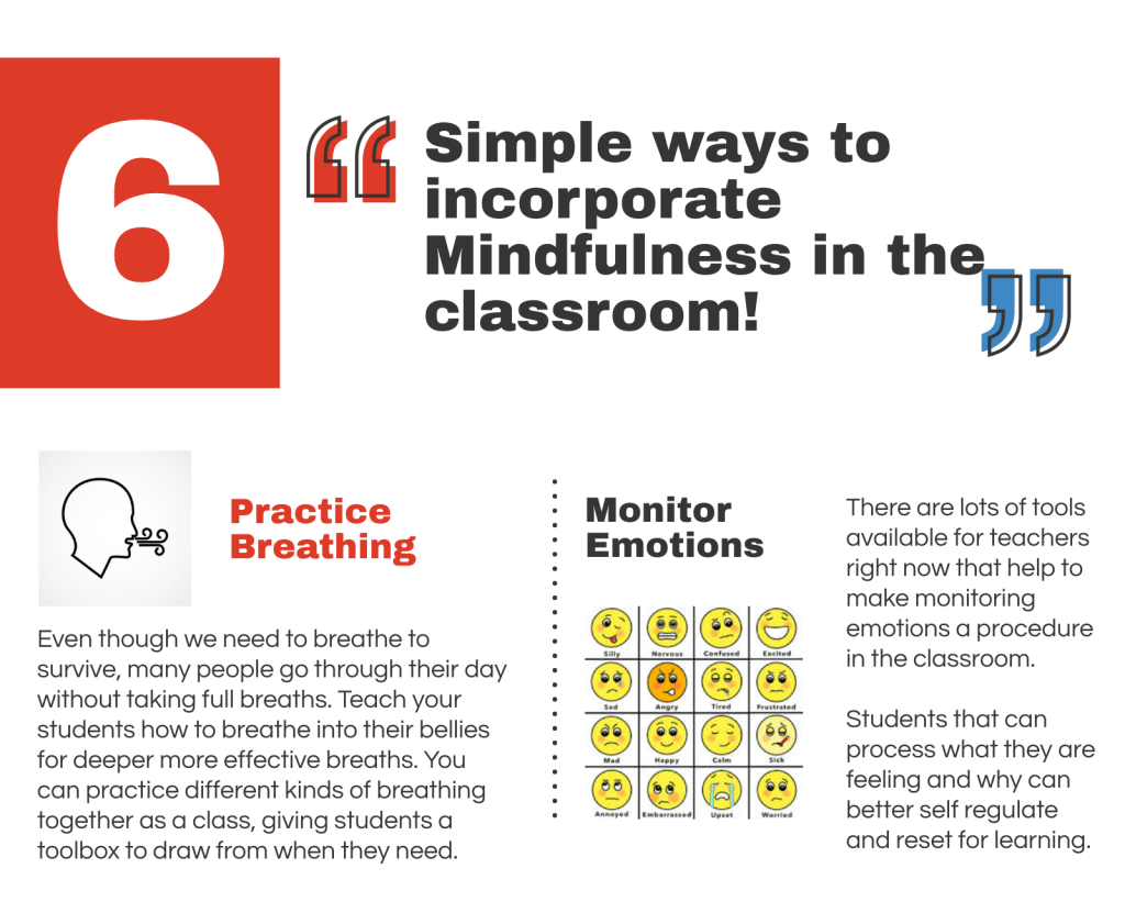 Teachers Guide to Mindfulness Infographic