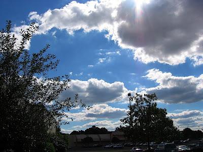 Sky over Philadelphia