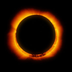 sun- Annular eclipse. Photo courtesy National Park Service-eclipse-C-Hinode-XRT-nps.gov