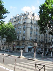Paris street corner - Rue Montparnasse, 6th arrondissement