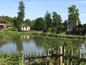 Pond in the Queen's Hamlet at Versailles, France. Photo by Donna L. Long, 2014. All rights reserved.