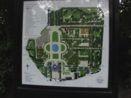 map of Luxembourg Gardens