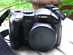 my Canon PowerShot S3 camera