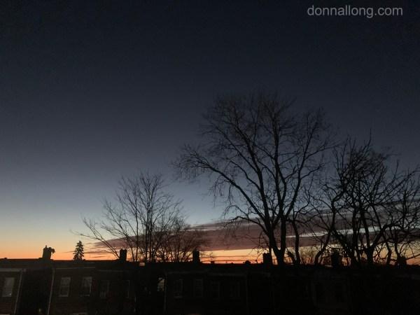sunrise darkest before dawn