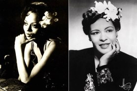Diana Ross and the real Billie Holiday