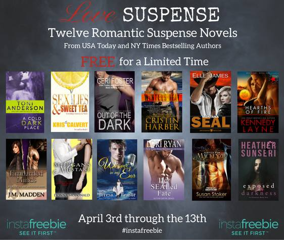Special Promo – Get 12 Romantic Suspense Titles