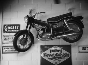 werkstatt motorcycle
