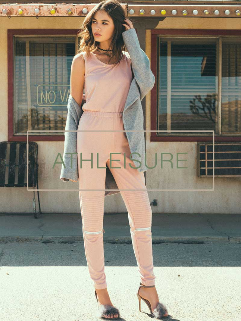 donnard's athleisure styles and looks