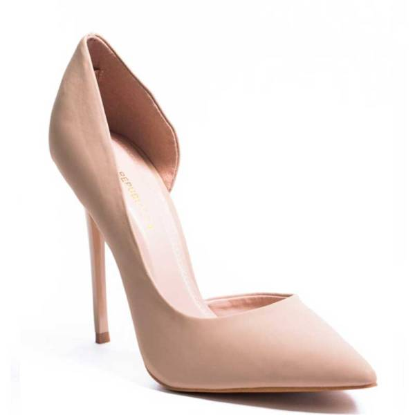 Shoe Republic LA Riely Stiletto Nude Pump