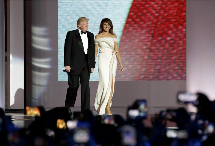 Melania Trump Inaugural Ball Gown