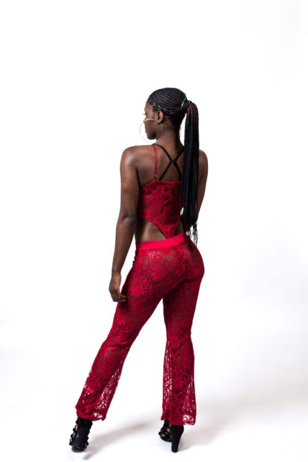Jadae 2pc Sheer Lace Set fashionnova
