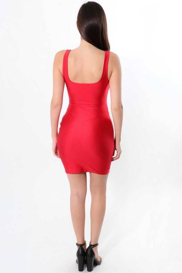 Malibu Keyhole Bodycon Dress 00