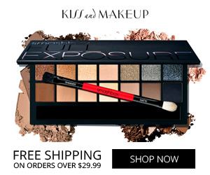 free shipping on makeup
