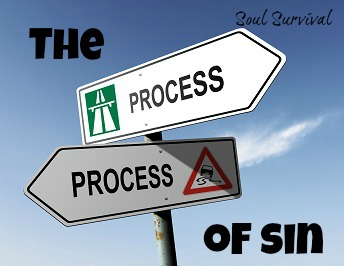 process of sin