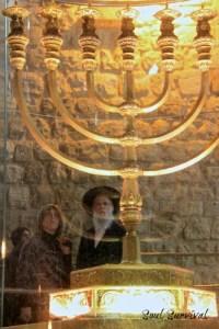menorah gold temple