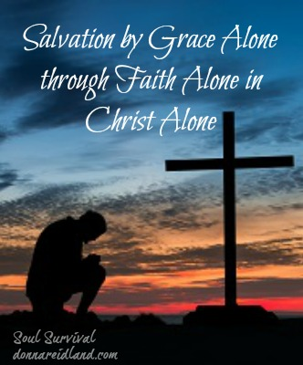 """Salvation by grace alone through faith alone""—This truth is central to our faith and must be strongly guarded and taught."