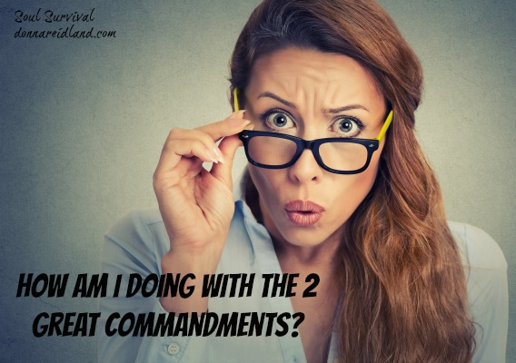 How are you doing with the 2 great commandments? - Paul warned us of the importance of regularly examining ourselves and of the consequences when we don't!