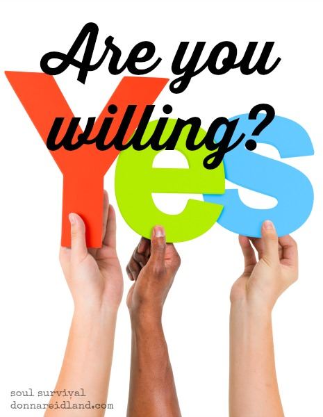Are you willing? - What would happen if God's people freely gave of all the gifts and abilities He has so graciously provided? Would there once again be more than enough, or even, too much?