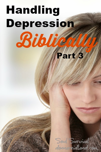 Handling Depression Biblically - Part 3 + LINKUP
