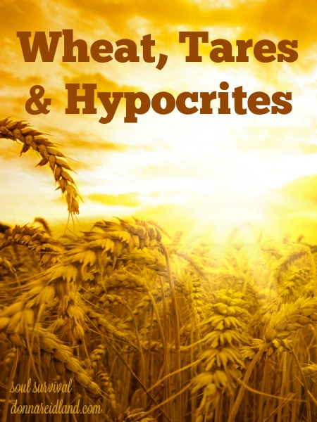 "Wheat, Tares & Hypocrites - I can't imagine anything worse than believing you are alright with God and when you stand before Him, hear those words, ""I never knew you."" Yet, in the ""Parable of the Wheat and the Tares,"" Jesus acknowledged that there are many sitting in churches who don't belong to Him. How can we know?"