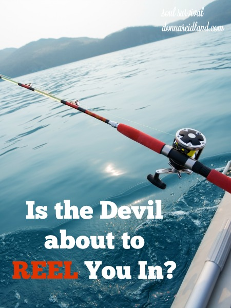 Could the devil be about to reel you in? Could you be nibbling on some bait that he has designed just for you? God has clearly explained just how that happens so we can avoid being ensnared by his bait. But would you recognize it, if it was happening to you?