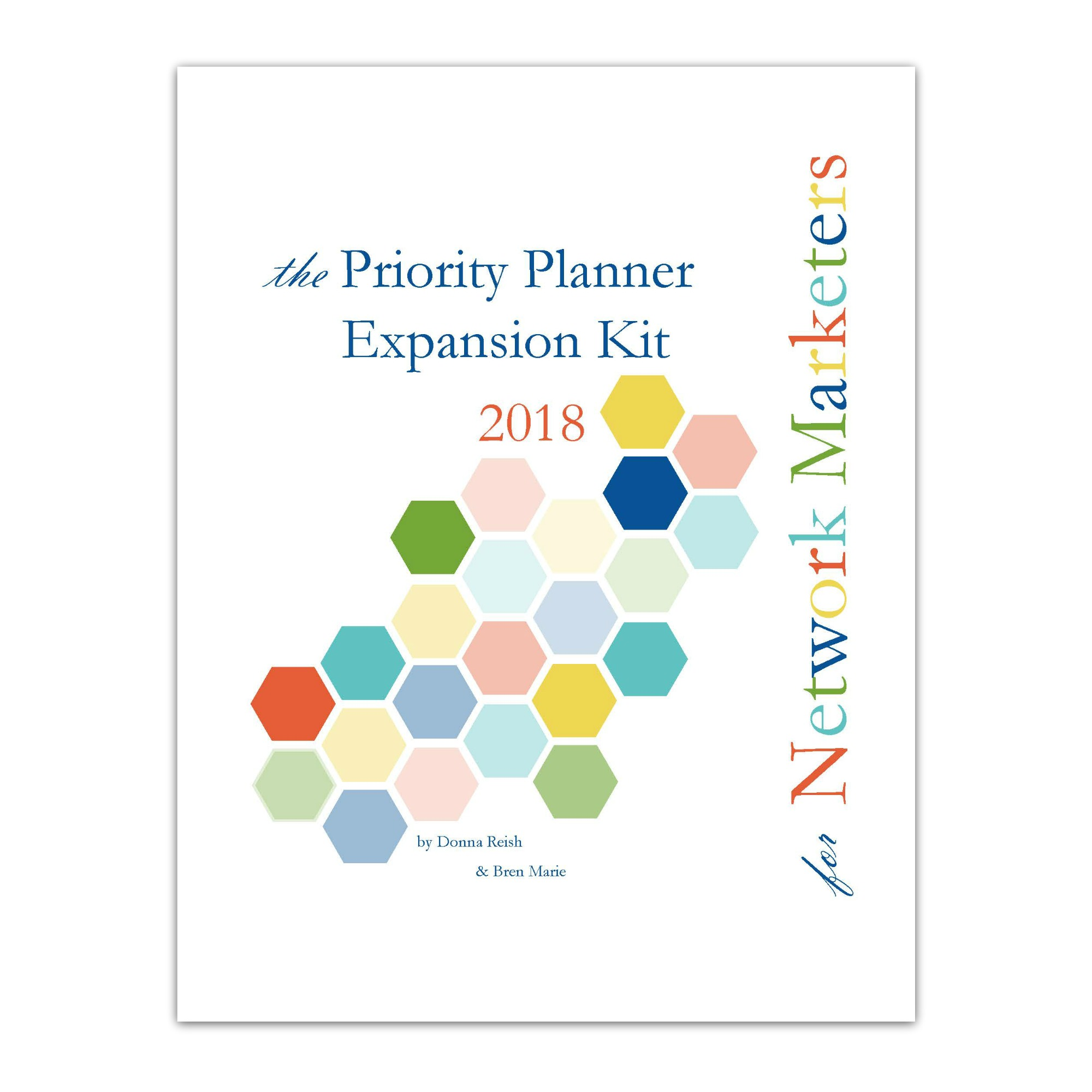 The Prioritizing Planner Network Marketer S Expansion Pack