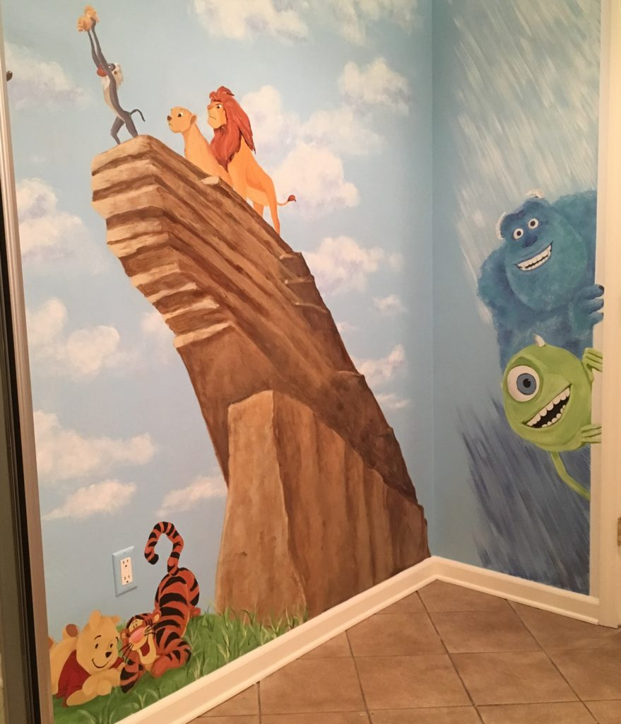 Wall Murals in NJNYC  Custom Wall Mural Painting Services
