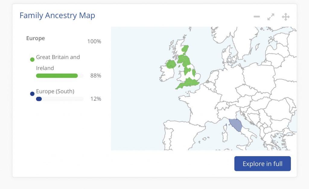 My Living DNA result has arrived