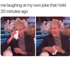 Ellen degeneres meme