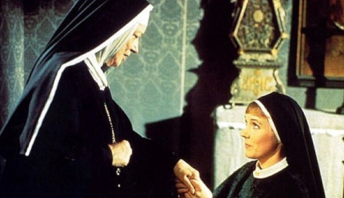mother superior talking to maria in the sound of music
