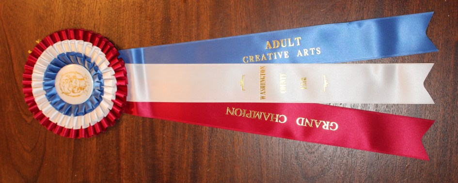 Ribbons Won at the County Fair 2015 – Donna's Decorative Designs
