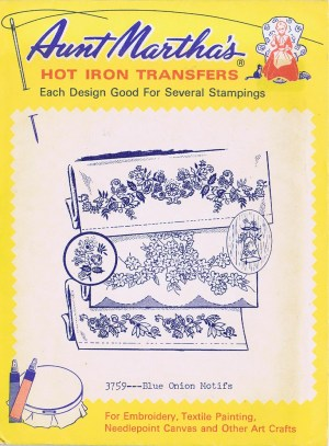 Aunt Martha's Hot Iron Transfers 3759